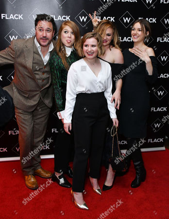 Stock Picture of Rufus Jones, Genevieve Angelson, Rebecca Benson, Anna Paquin, Lydia Wilson
