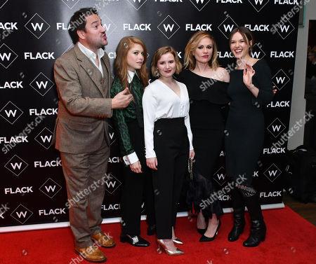 Rufus Jones, Genevieve Angelson, Rebecca Benson, Anna Paquin, Lydia Wilson