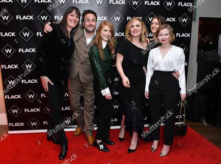 Rebecca Root, Rufus Jones, Genevieve Angelson, Anna Paquin, Lydia Wilson, Rebecca Benson