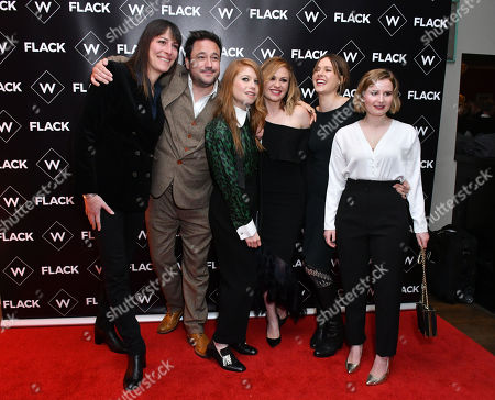 Editorial photo of 'Flack' TV show premiere, London, UK - 13 Nov 2018