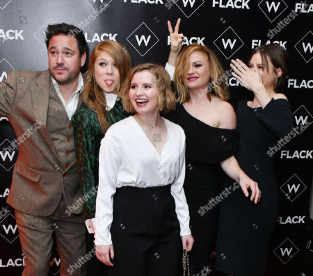 Stock Picture of Rufus Jones, Genevieve Angelson, Rebecca Benson, Anna Paquin, Lydia Wilson