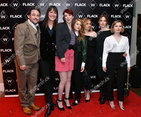 Rufus Jones, Rebecca Root, Cerise Hallam Larkin, Genevieve Angelson, Anna Paquin, Lydia Wilson, Rebecca Benson