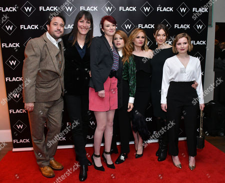 Editorial picture of 'Flack' TV show premiere, London, UK - 13 Nov 2018