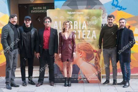 Roberto Alamo ; Manuela Velles ; Pedro Casablanc ; Carlos Bardem ; Ibon Comenzana, Andres Gertrudix