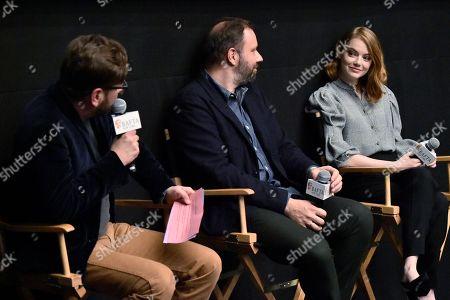 Luke Parker Bowles, Yorgos Lanthimos and Emma Stone