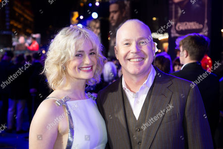 Stock Picture of Alison Sudol and David Yates