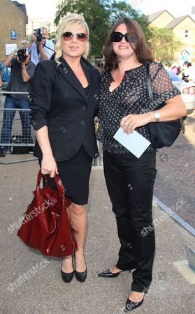 Letitia Dean and guest
