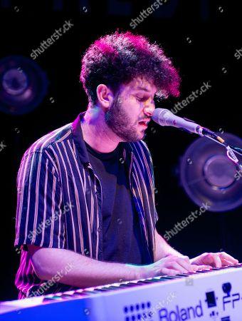 Editorial image of Billy Lockett in concert at o2 Shepherds Bush Empire, London, UK - 13 Nov 2018