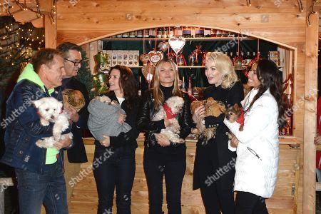 Rupert Everett, Kristin Davis, Kate Moss, Kathrin Klock, Dieter Bohlen, Freundin Fatma Carina