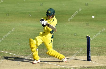 Kelvin Smith of the Cricket Australia XI plays a shot during the T20 tour match between the Cricket Australia XI and South Africa played at Allan Border Field in Brisbane, Australia, 14 November 2018.