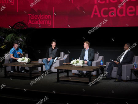 Tyler Grey, David Boreanaz, Kevin McKidd, Malcolm Nance. Tyler Grey, David Boreanaz and Kevin McKidd participate on a panel moderated by Malcolm Nance during Veterans Day: Television and the Military Experience, a special Television Academy member event, on at the Saban Media Center in North Hollywood, Calif
