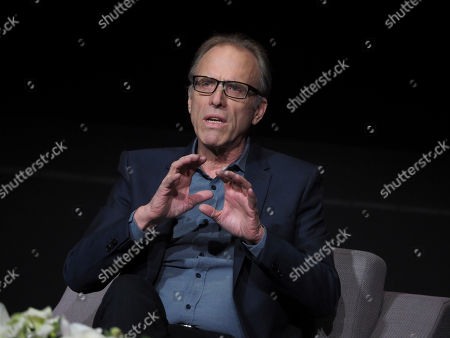 Kirby Dick participates on a panel during Veterans Day: Television and the Military Experience, a special Television Academy member event, on at the Saban Media Center in North Hollywood, Calif