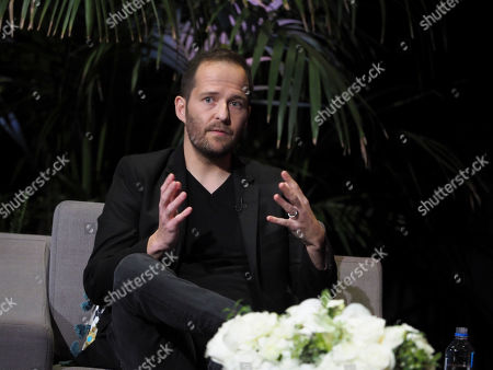 Stock Image of Mikko Alanne participates and a panel during Veterans Day: Television and the Military Experience, a special Television Academy member event, on at the Saban Media Center in North Hollywood, Calif