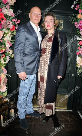 Stock Image of Camilla Rutherford and Dominic Burns