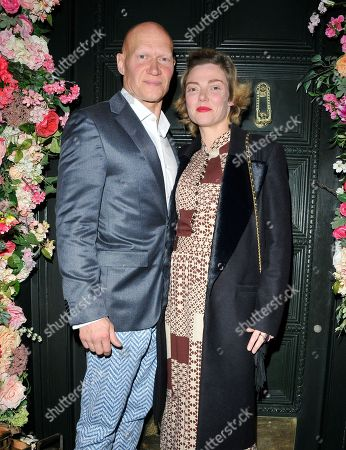 Camilla Rutherford and Dominic Burns