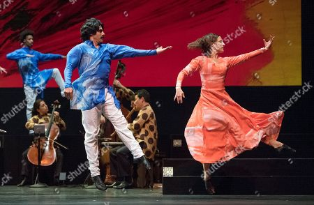 'Layla and Majnun' performed by Mark Morris Dance Group, London