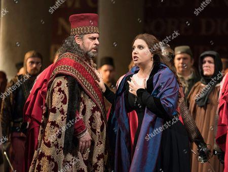 'Simon Boccanegra' opera at the Royal Opera House, London