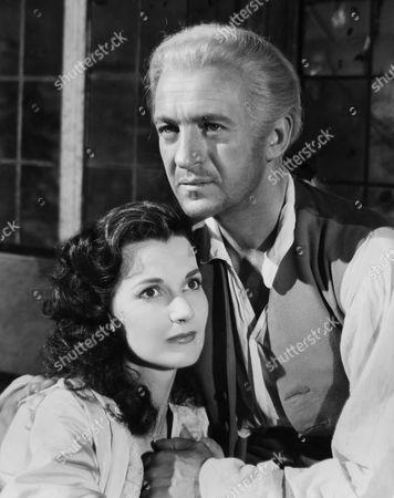 1948, Judy Campbell, David Niven, Anthony Kimmins, London Films/British Lion, Film , B&W, Portrait,