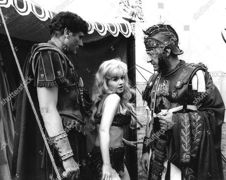 1964, David Davenport, Julie Stevens, Sid James, Gerald Thomas, Rank, Scene Still, Shakespeare, Landscape,