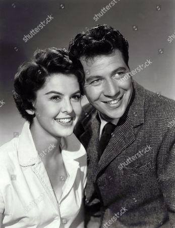 1956, Patricia Driscoll, Max Bygraves, Guy Hamilton, British Lion, Film , B&W, Portrait,