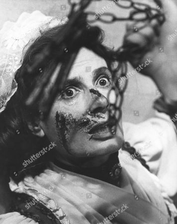 1971, Blood Will Have Blood, Yvonne Mitchell, Peter Sykes, Hammer, Scene Still, Horror, Portrait,
