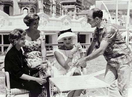 1961, Troublez-moi ce Soir (1951), June Thorburn, Nicole Maurey, Elke Sommer, Stirling Moss, Cyril Frankel, Associated British, On/Off Set, Landscape,