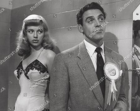 1951, Diana Dors, Eddie Byrne, London Films/British Lion, Scene Still, Landscape,