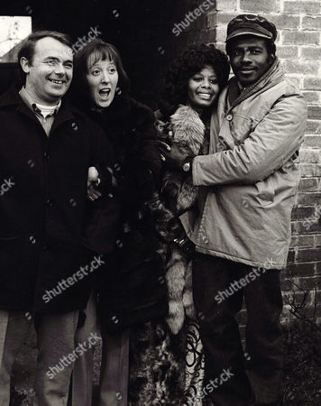1973, Jack Smethurst, Kate Williams, Nina Baden-Semper, Rudolph Walker, Hammer Film Productions, Film, B&W, Portrait,