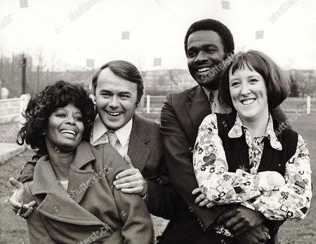 1973, Nina Baden-Semper, Jack Smethurst, Rudolph Walker, Kate Williams, Hammer Film Productions, Film, B&W, Landscape,