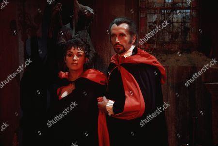 1971, To Love A Vampire, Barbara Jefford, Mike Raven, Hammer, Scene Still, Horror, Landscape,