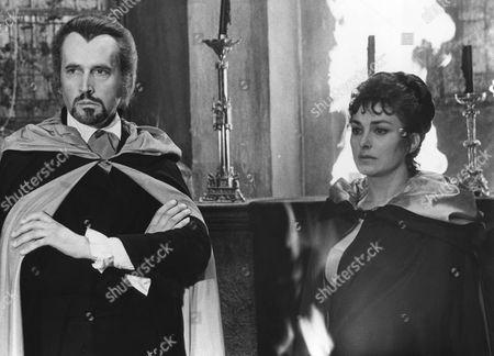 1971, To Love A Vampire, Mike Raven, Barbara Jefford, Hammer, Scene Still, Horror, Landscape,