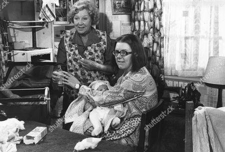 1972, Doris Hare, Anna Karen, Hammer/Anglo-EMI, Scene Still, Comedy, Landscape,
