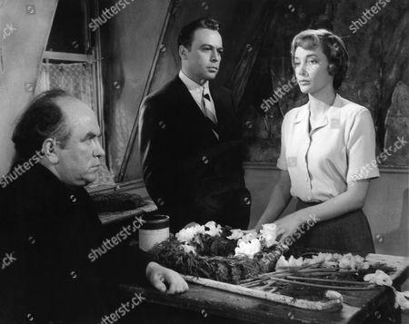 1958, Liam Redmond, Herbert Lom, Sylvia Syms, Associated British-Pathe, Scene Still, Landscape,