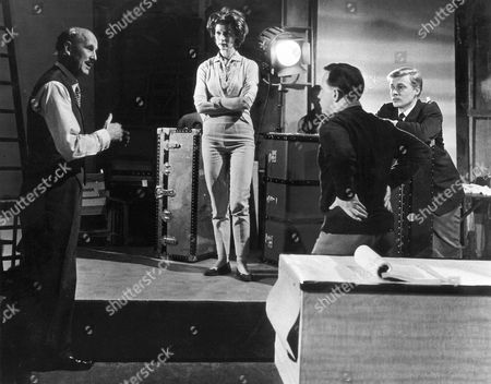1960, Le Voyeur, Moira Shearer, Otto Heller, Karlheinz Bohm, Anglo Amalgamated, On/Off Set, Landscape,