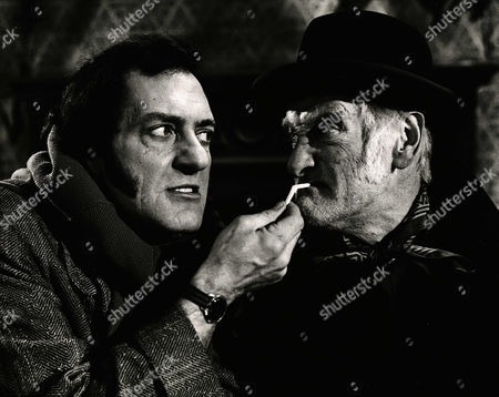 1973, Harry H Corbett, Wilfred Brambell, Associated London, Scene Still, Landscape,