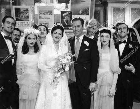 1954, Derek Sydney, Marie Burke, Nicole Maurey, Rex Harrison, Eric Pohlmann, George Cole, London Films/British Lion, Scene Still, Landscape,