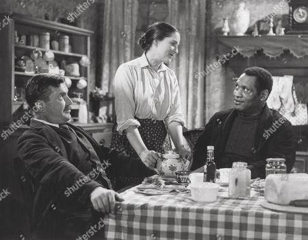1940, David Goliath, Edward Chapman, Rachel Thomas, Paul Robeson, Ealing, Scene Still, Landscape,
