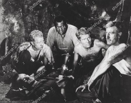1940, David Goliath, Paul Robeson, Edward Chapman, Ealing, Scene Still, Landscape,