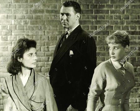1957, La Femme en robe de chambre, Yvonne Mitchell, Anthony Quayle, Sylvia Syms, Associated British, Scene Still, Landscape,