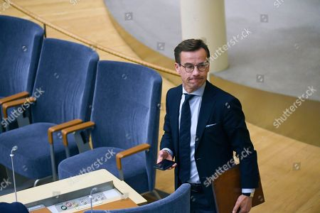 Editorial photo of Ulf Kristersson lost vote for Prime Minister, Stockhom, Sweden - 14 Nov 2018