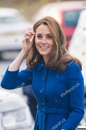Prince William and Catherine Duchess of Cambridge visit South Yorkshire