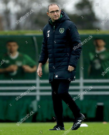 Republic of Ireland training and press conference, Dublin
