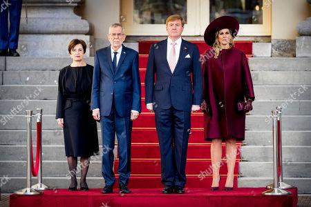 President of Austria Alexander Van der Bellen visit to The Netherlands