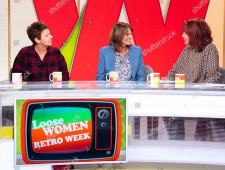 Stock Photo of Tessa Peake-Jones, Gwyneth Strong, Janet Street-Porter
