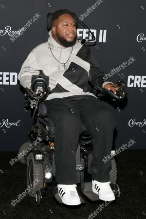 Editorial image of 'Creed II' film premiere, Arrivals, New York, USA - 14 Nov 2018