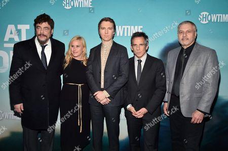 Benicio Del Toro, Patricia Arquette, Paul Dano, Ben Stiller and Gary Levine