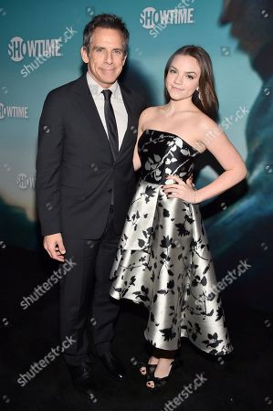 Ben Stiller and Ella Stiller