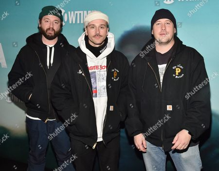 Editorial image of 'Escape at Dannemora' TV show premiere, Arrivals, New York, USA - 14 Nov 2018