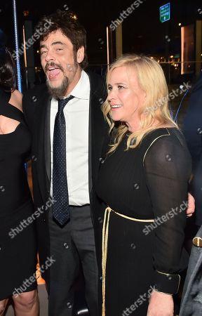 Benicio Del Toro and Patricia Arquette