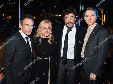 Ben Stiller, Patricia Arquette, Benicio Del Toro and Paul Dano